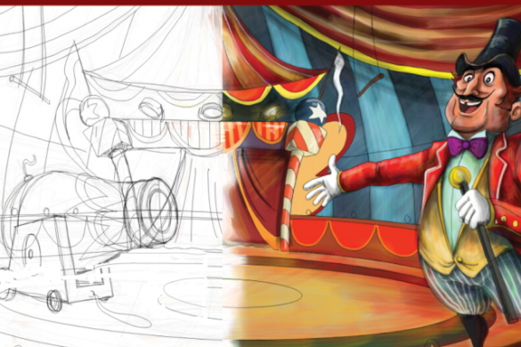 How to Draw a Circus: Step by Step Tutorial