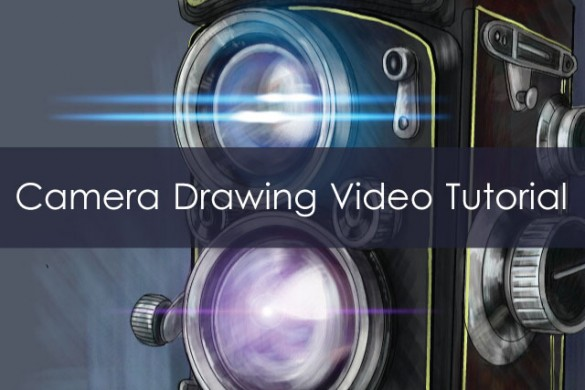 How to Draw a Camera: Watch PicsArt Quick-Draw Video Tutorial