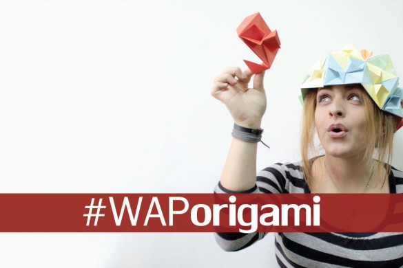 Take Photos of Marvelous Origami for the Weekend Art Project