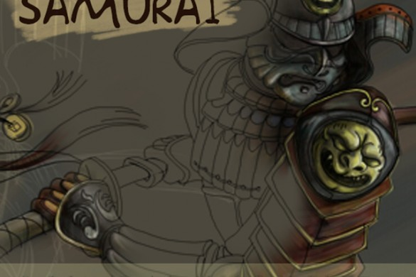 Drawing Tutorial: How to Draw a Samurai Step by Step