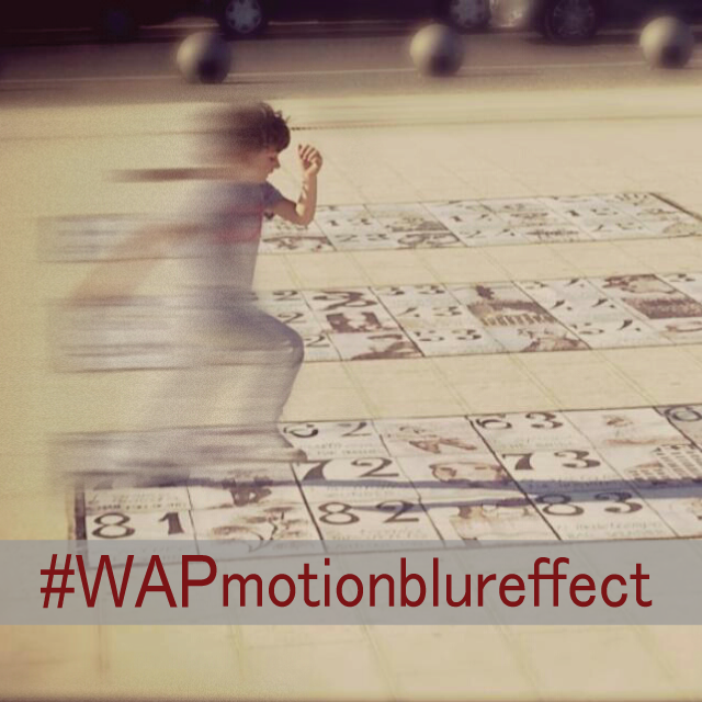motion blur photo editing effect