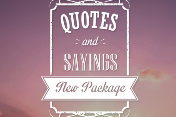 """Download Our New """"Quotes and Sayings"""" Clipart Package"""
