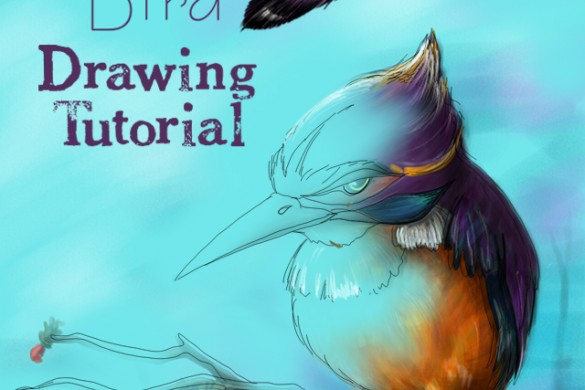 How to Draw a Bird: Step by Step Tutorial