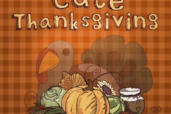 Download our Cute Thanksgiving Clipart Package!
