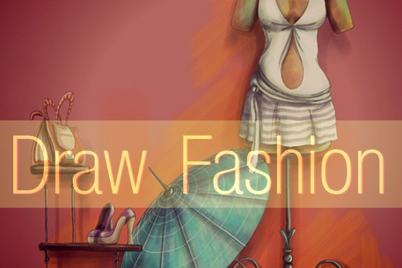 Take a Walk on the Runway and Join the Fashion Drawing Challenge