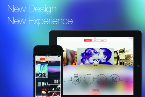 PicsArt Arrives on iOS 7 for Christmas with Slick New Design!
