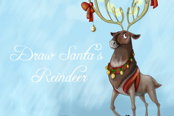 Draw Santa's Reindeer for this Week's Drawing Challenge
