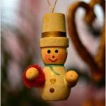 Christmas tree snowman toy