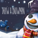 Snowman drawing challenge