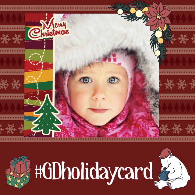 holiday card graphic design contest