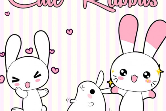 Download the New Rabbits ClipArt Package!
