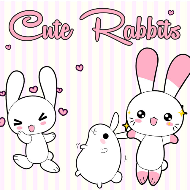 rabbit clipart package