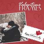 Valentine's day frames package on PIcsart