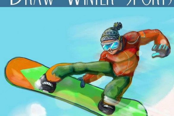 Hit the Slopes, and Enter this Week's Winter   Sports Drawing Challenge!