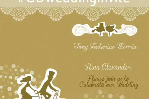 Design a Wedding Invitation for our Graphic Design Contest