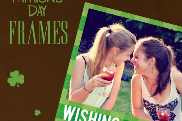 Download the new St. Patrick's Day Frames Package!