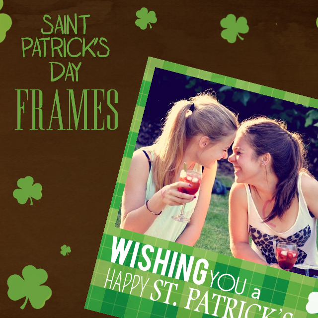 photo editing St. Patrick's day Clipart Package