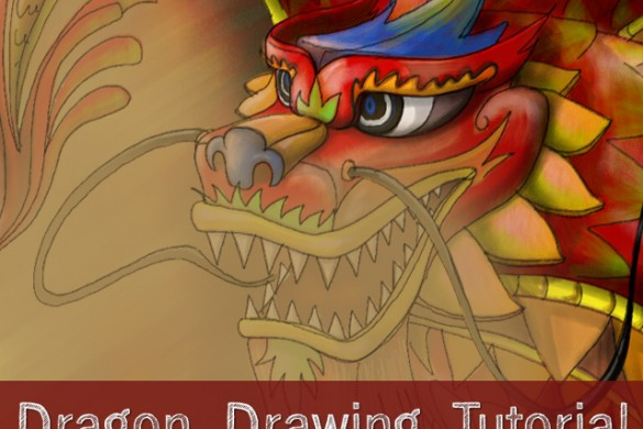 How to Draw a Dragon! Step by Step Drawing Tutorial