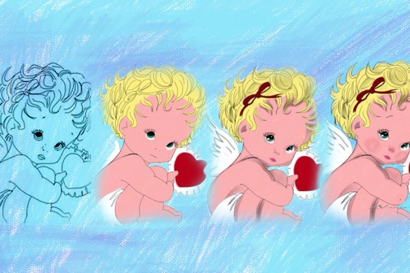 How to Draw Cupid: PicsArt Users' Drawing Tutorials