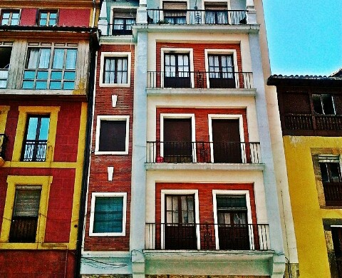 Photographs of Old Town Streets and Buildings