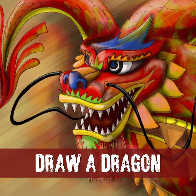 dragon drawing contest