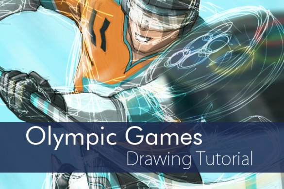How to Draw Olympic Games: Step by Step Drawing Tutorial