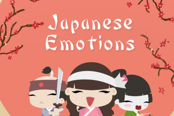 Download our Japanese Emotions Clipart Package!