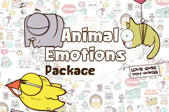 Download the Animal Emotions Clipart Package Today!