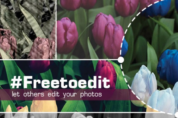 Call on Your Friends to Edit your Pics by Tagging them with #freetoedit