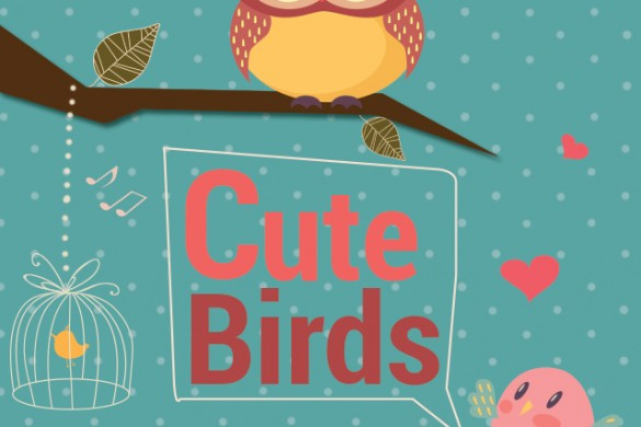 Download the Cute Birds Clipart Package NOW!