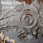 Water effect tutorial by Picsart