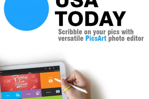 Check out the USA Today's Stellar PicsArt Review