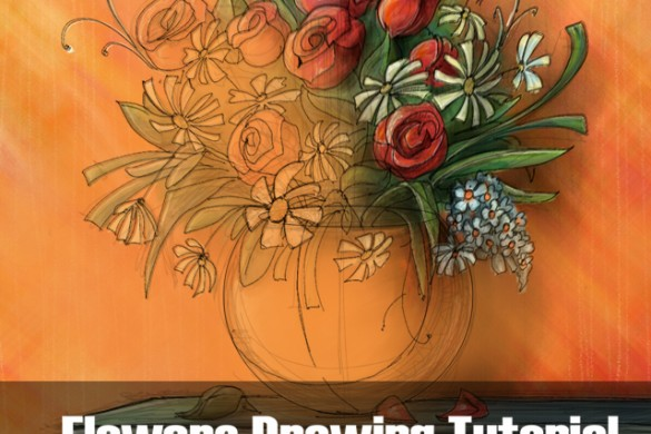 How to Draw Flowers: Step by Step Tutorial