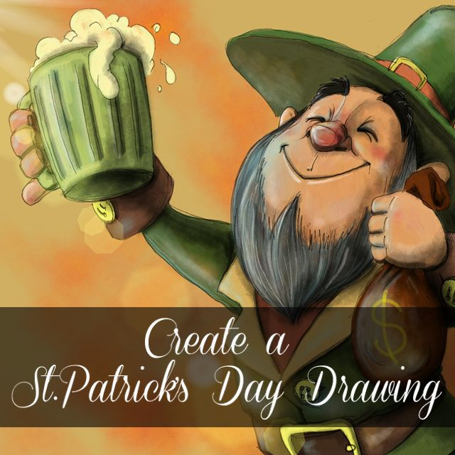 St Patrick's day drawing contest