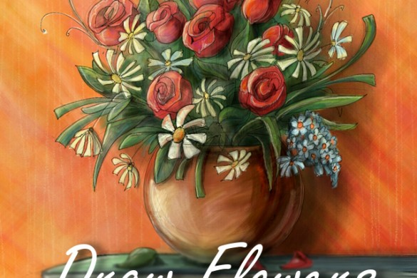 Celebrate Women's Day and Paint Flowers for this Week's Drawing Challenge
