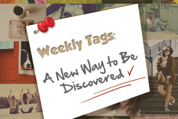 Use Weekly Photo Tags to Share & Promote Your Art!