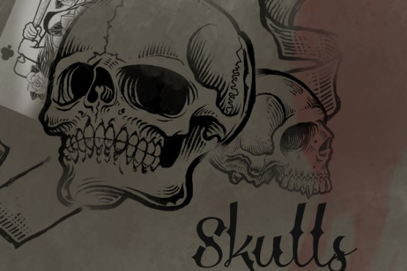 Download our New Package of Skulls Clipart in the Shop!