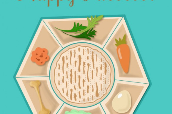 Happy Passover, from PicsArt