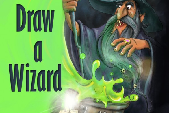 Draw a Powerful Wizard for the Drawing Challenge!