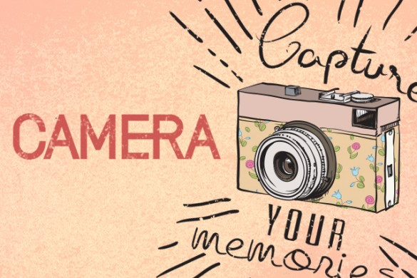 Download our New Camera Clipart Package