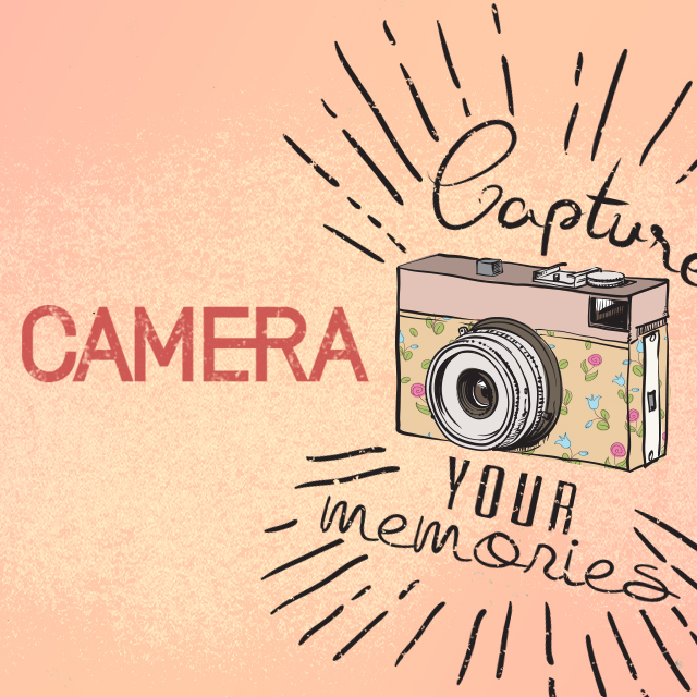 camera clipart package