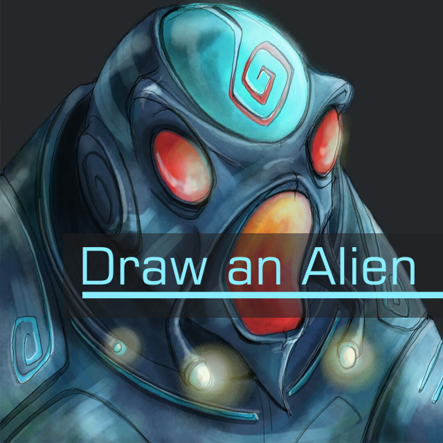 alien drawing contest