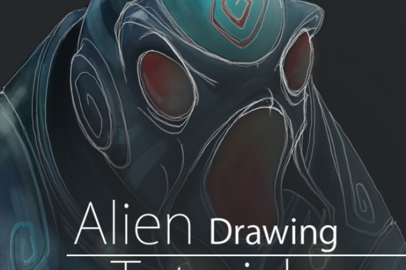 How to Draw an Alien Step by Step with PicsArt Drawing Tools