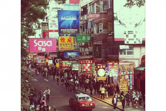 Vignettes of a City in the Far East, by User Kevintsoi