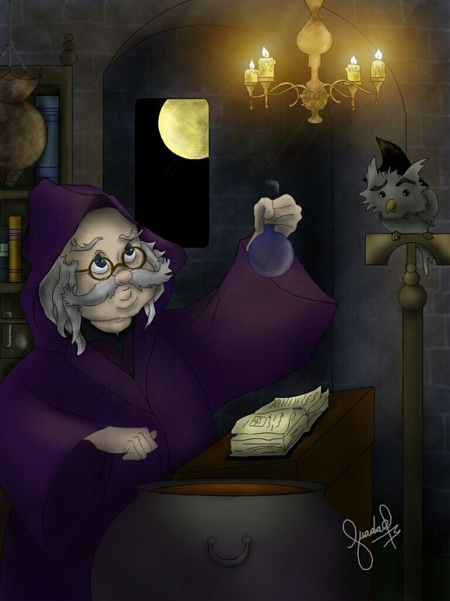wizard drawing contest