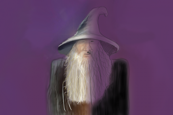 PicsAsrt Users Share Tutorials on How to Draw a Wizard