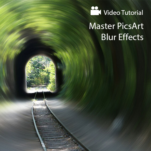 How To Use Picsart Blur Effects Create Discover With Picsart