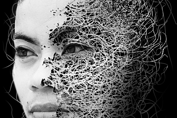 Dazzling Artistic Self-Portraits Created by Users #artisticselfie