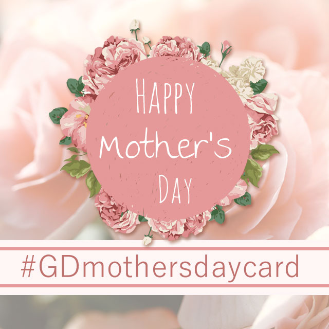 mothers day graphic design card
