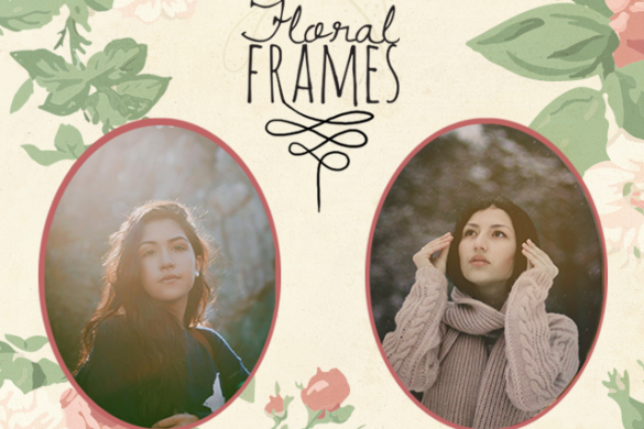 Make your Photos Blossom and Download Floral Frames Today!